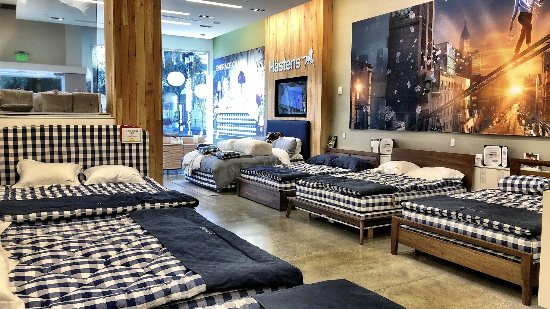 Hästens natural, handmade beds from Sweden in San Jose