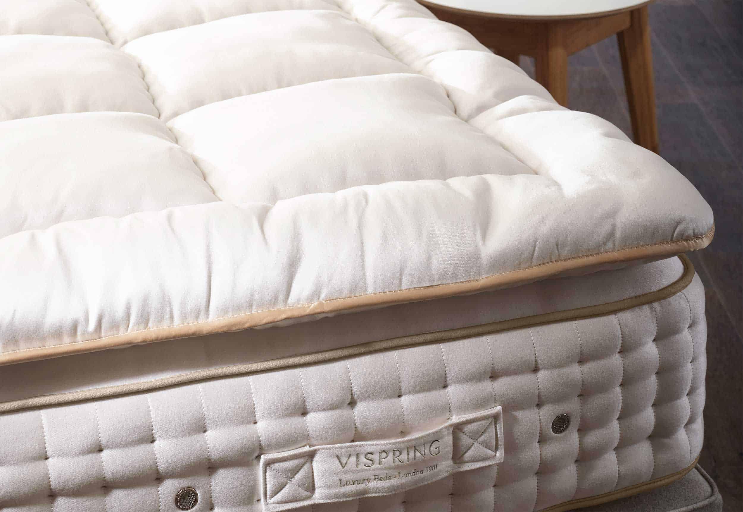 Vispring Topper sale 2020 at the sleep Luxury Bed store in Santana Row